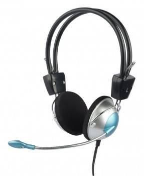 Наушники с микрофоном Oklick HS-M134V серебристый / черный