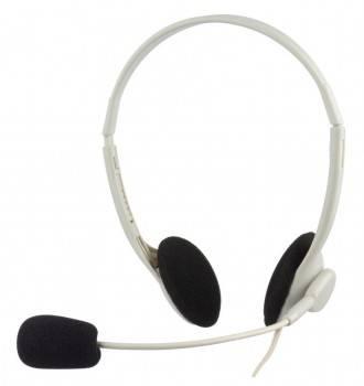 Наушники с микрофоном Oklick HS-M143VW белый