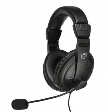 Наушники с микрофоном Oklick HS-M137V черный