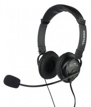 Наушники с микрофоном Oklick HS-M133V черный