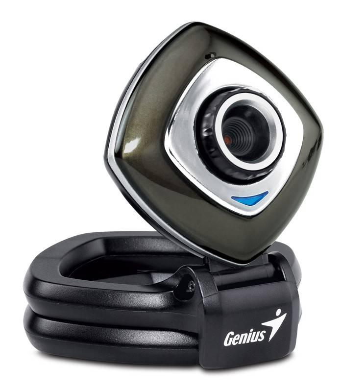 Веб-камера Genius e-Face 2025 черный/серебристый - фото 1