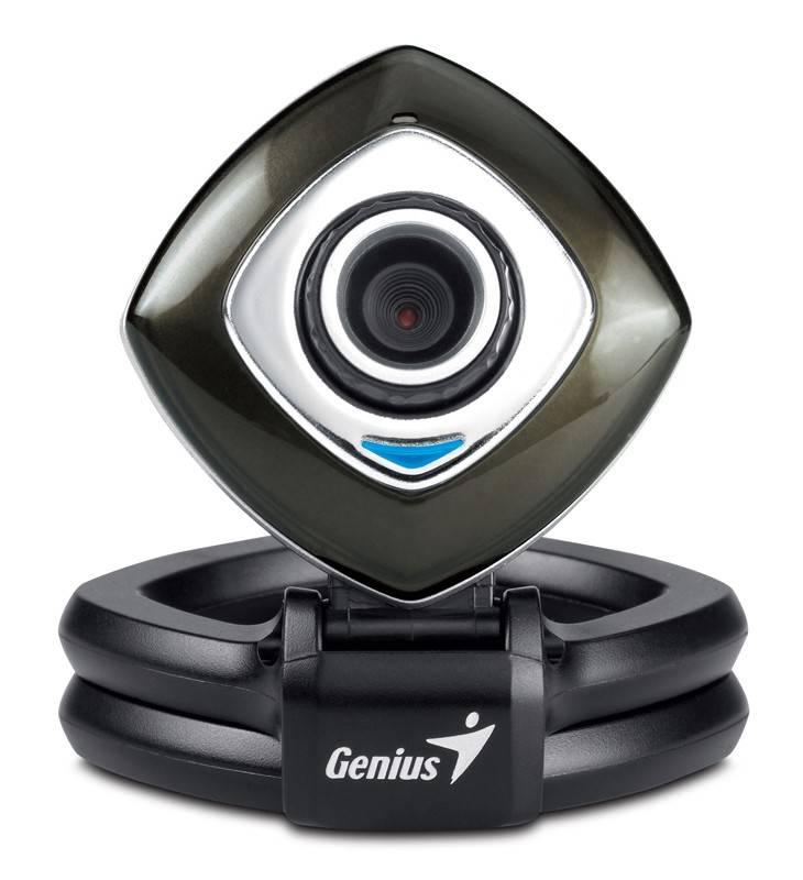 Веб-камера Genius e-Face 2025 черный/серебристый - фото 2
