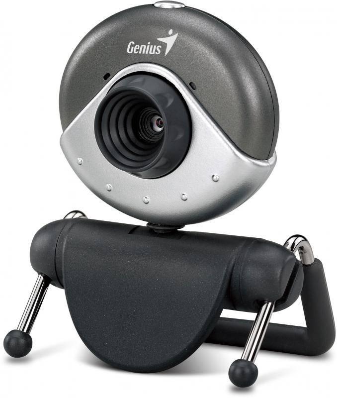 Веб-камера Genius E-Messenger 310 серый - фото 2