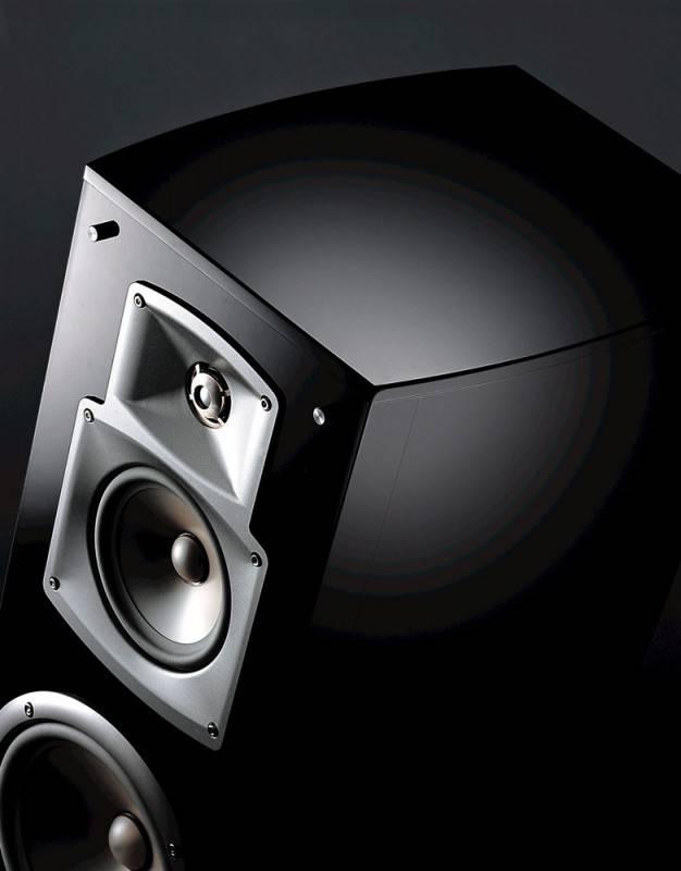 Фронтальные колонки Yamaha NS-777 черный (ANS777B) - фото 2