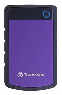 Внешний жесткий диск 1Tb Transcend TS1TSJ25H3P StoreJet 25H3P фиолетовый USB 3.0 - фото 2