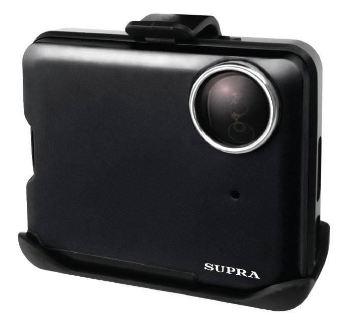 Видеорегистратор Supra SCR-700 черный - фото 1