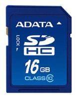 Карта памяти SDHC 16Gb Class10 A-Data ASDH16GCL10-R