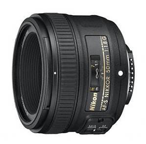 Объектив Nikon AF-S 50mm f / 1.8