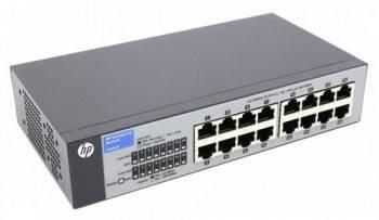 Коммутатор неуправляемый HPE V1410-16 (J9662A)