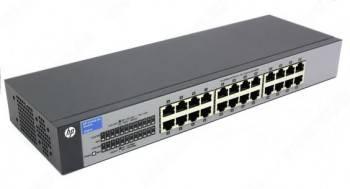 Коммутатор неуправляемый HPE V1410-24 J9663A