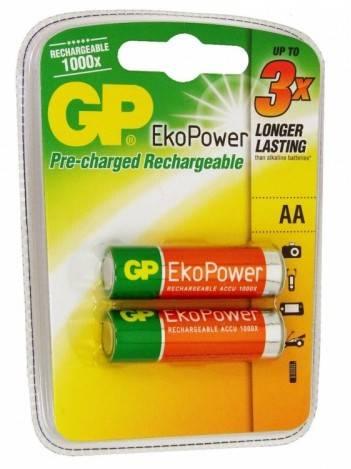 Аккумулятор AA GP 100AAHCBEP-CR2 (2шт) - фото 1