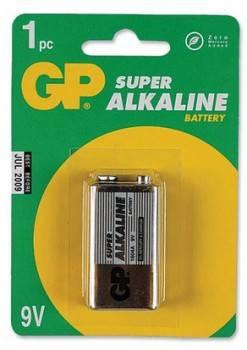 Батарея 9V GP Supercell 1604S 6F22 (1шт)