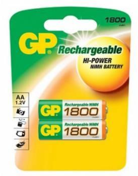 Аккумулятор AA GP 180AAHC (2шт)