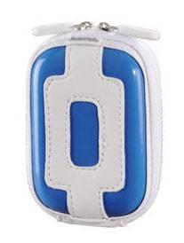 Футляр Hama Hardcase Candy 40G белый/голубой (H-103819)
