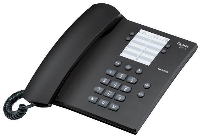 Телефон Gigaset Gigaset DA100 антрацит - фото 1