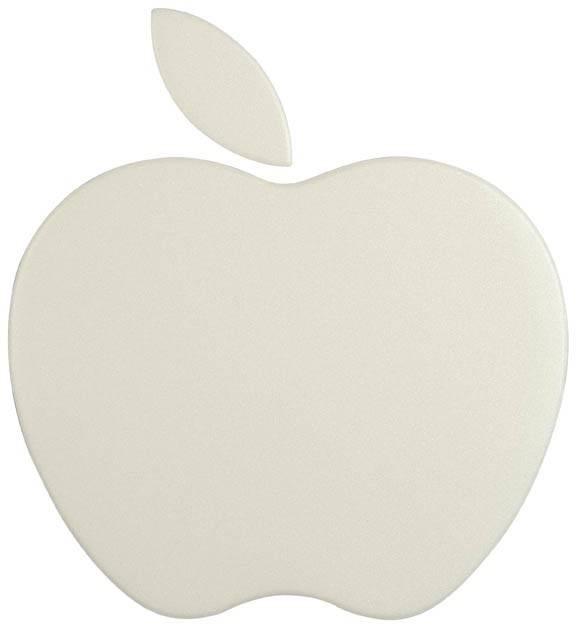 Коврик для мыши Nova Apple pad белый - фото 1