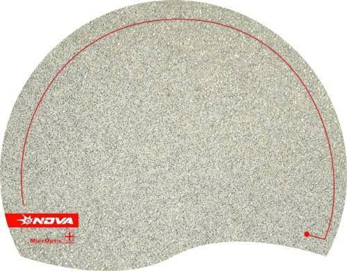 Коврик для мыши Nova Microptic+ Elegance серебристый - фото 1