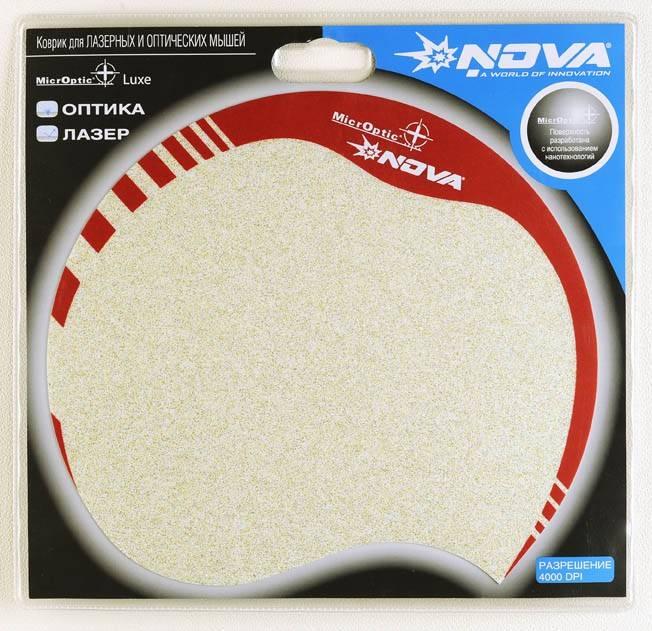 Коврик для мыши Nova Microptic+ Luxe золотистый - фото 2