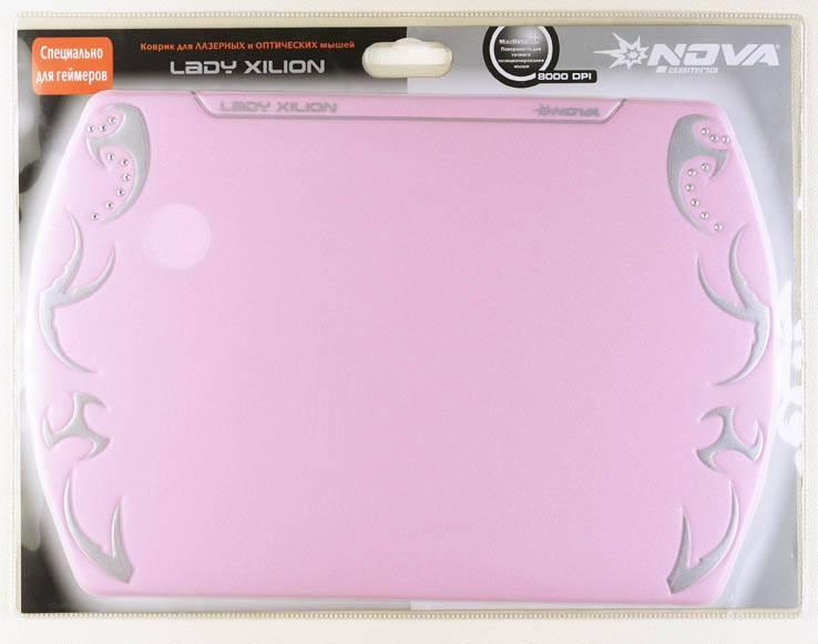 Коврик для мыши Nova XILION розовый - фото 2