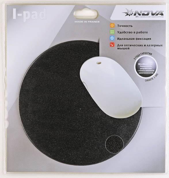 Коврик для мыши Nova I-pad черный - фото 2