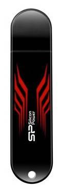 Флеш диск 8Gb Silicon Power Blaze B10 USB3.0 черный - фото 1