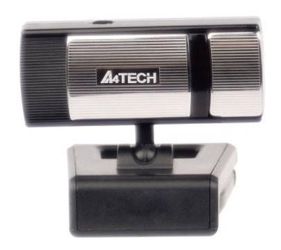 Камера Web A4 PK-720G черный/серебристый - фото 1