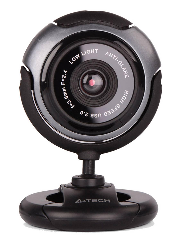 Камера Web A4 PK-710G черный/серый - фото 1