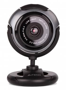 Веб-камера A4 PK-710G черный / серый