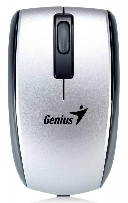 Мышь Genius ScrollToo 901 серебристый - фото 1