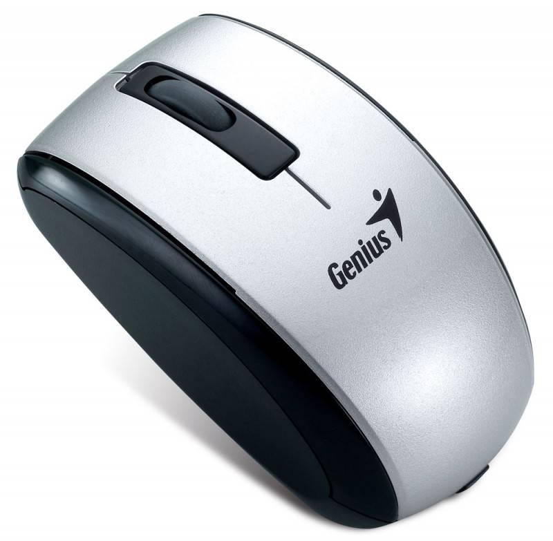 Мышь Genius ScrollToo 901 серебристый - фото 2