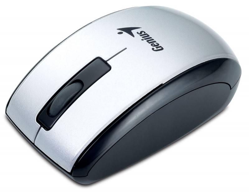 Мышь Genius ScrollToo 901 серебристый - фото 4