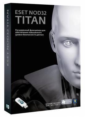 Антивирус ESET ESET NOD32 TITAN