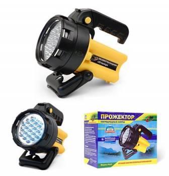 Аккумуляторный фонарь Эра FA19 желтый