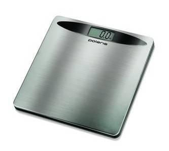Весы напольные электронные Polaris PWS1524DM серебристый