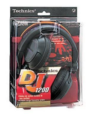 Наушники Panasonic RP-DJ1200E-K черный - фото 4