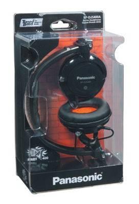 Наушники Panasonic RP-DJS400 AEK черный (RP-DJS400AEK) - фото 1