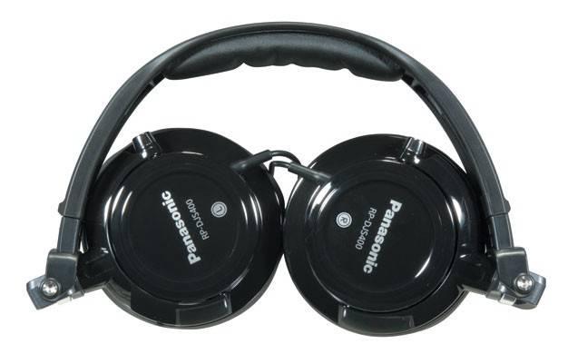 Наушники Panasonic RP-DJS400 AEK черный (RP-DJS400AEK) - фото 2