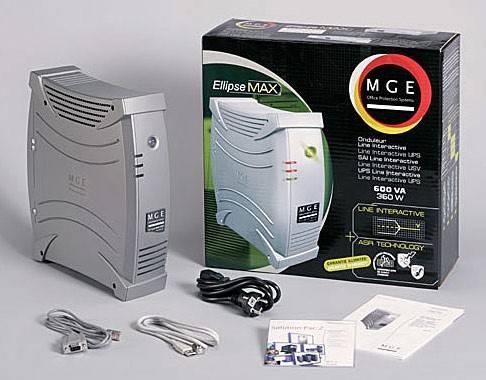 ИБП Eaton Ellipse MAX 850 USBS IEC 550Вт серый - фото 4