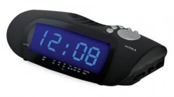 Радиобудильник Supra SA-16FM черный