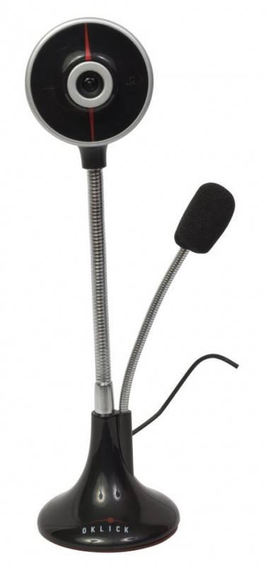 Веб-камера Oklick LC-200T черный/серебристый - фото 2