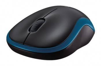 Мышь Logitech M185 синий (910-002239)