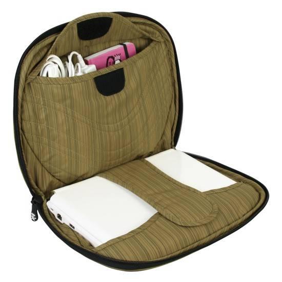"""Сумка для ноутбука 7"""" Crumpler The Mullet темно-коричневый/зеленый - фото 4"""