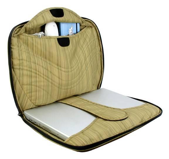 """Сумка для ноутбука 15"""" Crumpler The Mullet темно-коричневый/желтый - фото 3"""