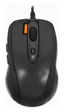 Мышь A4 V-Track Padless N-70FX черный