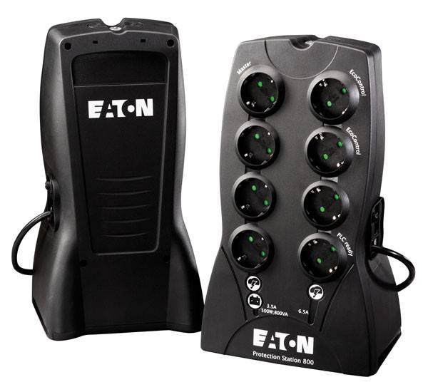 ИБП Eaton Protection Station 800 500Вт черный - фото 1