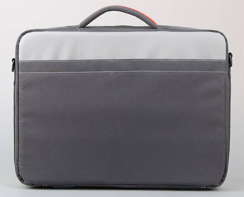 """Сумка для ноутбука 16"""" Continent CC02 темно-серый - фото 3"""