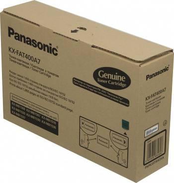 Картридж Panasonic KX-FAT400A черный (KX-FAT400A7)