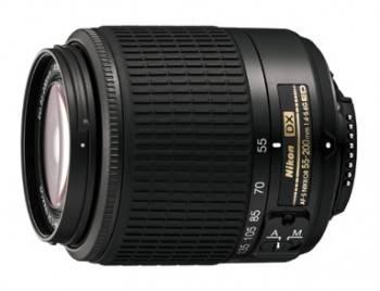 Объектив Nikon AFS DX VR 55-200mm f/4-5.6 (JAA798DA)