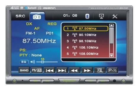 Автомагнитола Prology MDN-2740T BG - фото 1