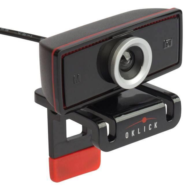 Веб-камера Oklick LC-130M черный - фото 1